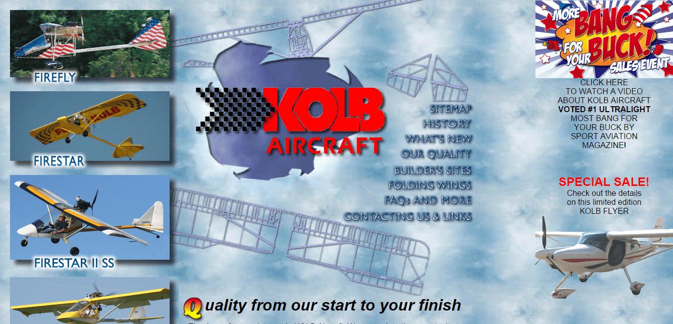 Kolb Aircraft Co. Experimental and Light Kit Build Aircraft.png